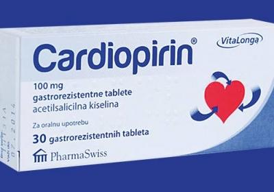 Akcija Cardiopirina 216,63 rsd